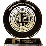 Caravan Facilities Management's awarded 2014 Major League Baseball Most Valuable Diverse Business Partner
